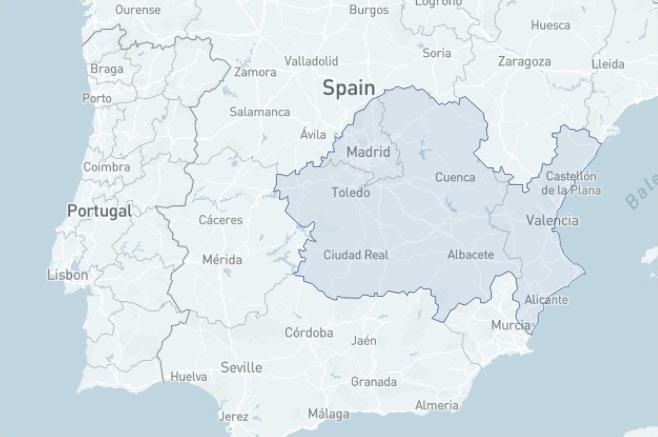 Trabajamos en Comunidad de Madrid, Castilla la Mancha y Comunidad Valenciana